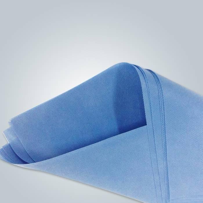 Polypropylene fabric pre-cut medical bed sheets