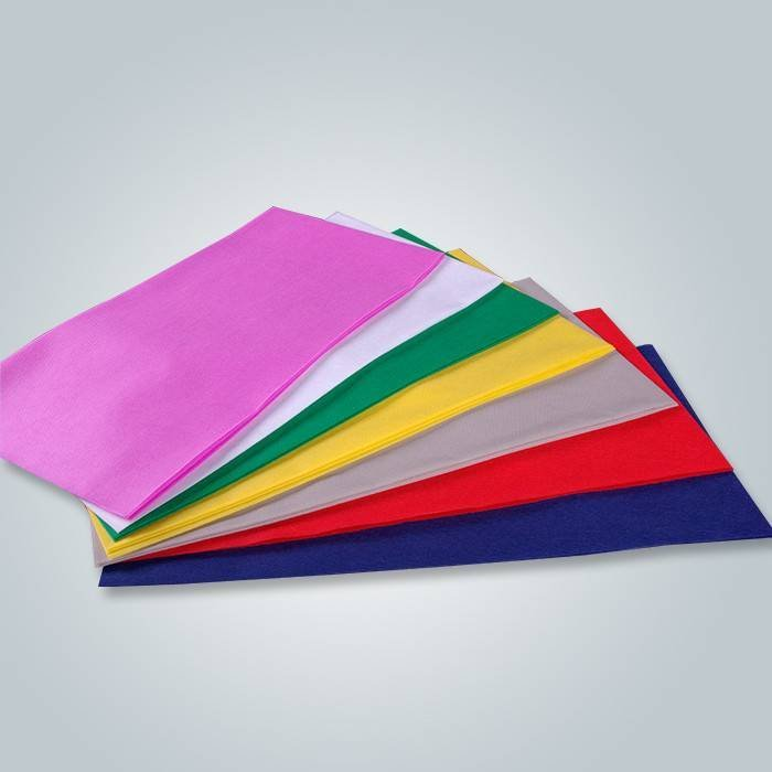 Eco-friendly disposable 1m*1m polypropylene spunbond non woven square table cloth