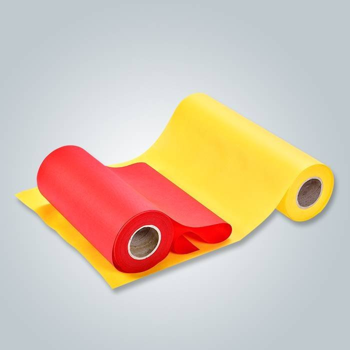 Different width non woven fabric