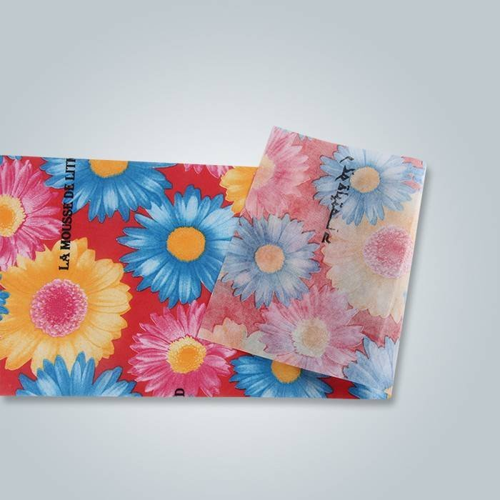 Printed non woven packing fabric