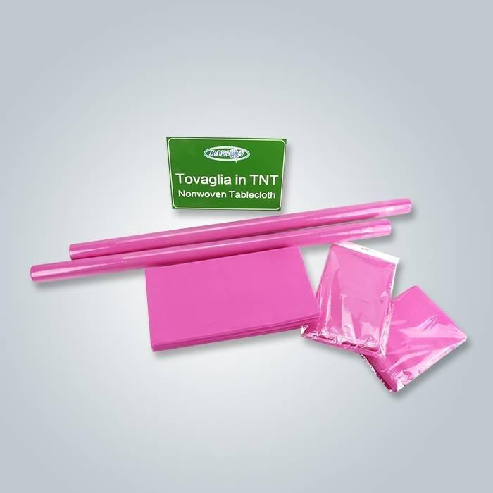 Tessuto non tessuto del piccolo rotolo del fornitore pp della Cina per la copertura della Tabella