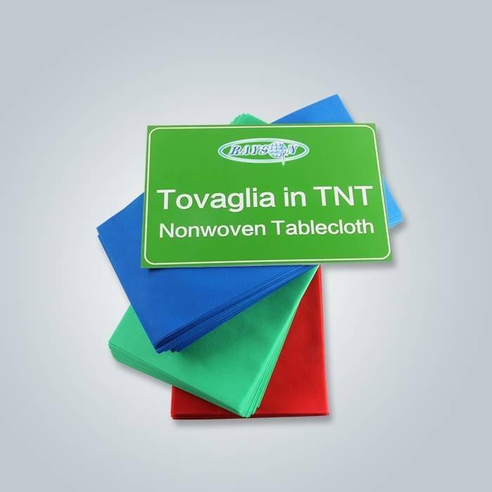 1m x 1m Polypropylène TNT Tissu pour l'utilisation du restaurant