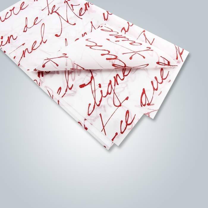 Les couleurs ont imprimé des conceptions de peinture sur le tissu non tissé de tissu jetable de Tableau