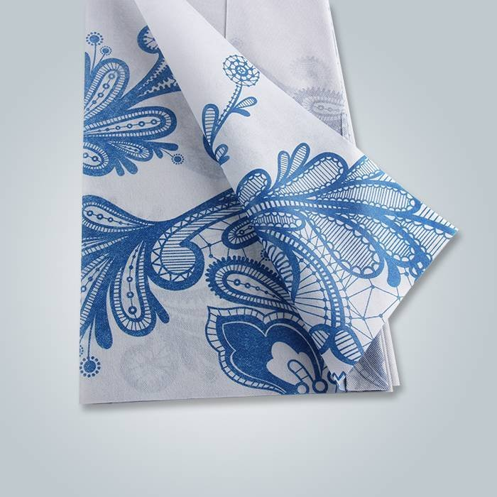 Polipropileno Materiais não-tecidos Materiais Printed Fabric Table Cover For Cheap Price