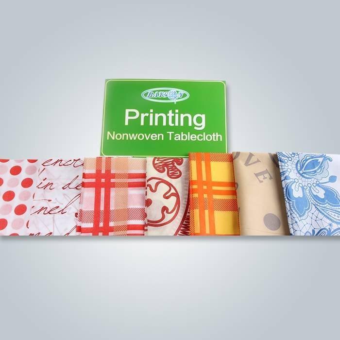 テーブルクロス用の異なる印刷デザイン