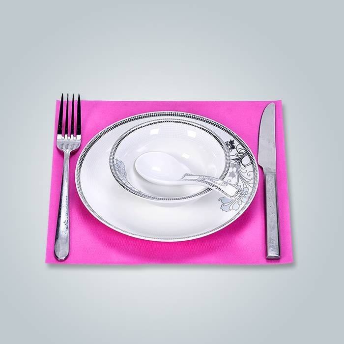 Polypropylene Nonwoven Fabric 33 x 45 Placemat , linen napkins