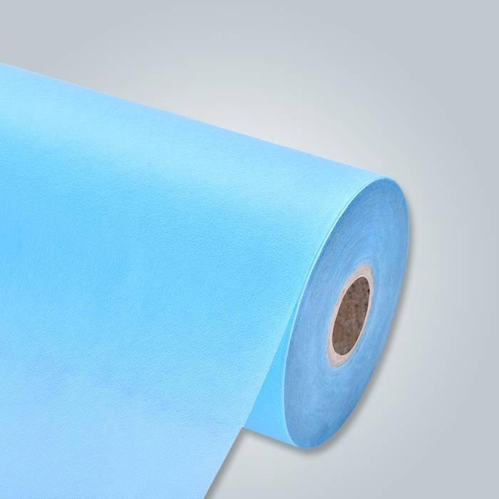 Tela no tejida de los PP Spunbond del fabricante caliente no tejido de los PP de la venta para los vestidos quirúrgicos