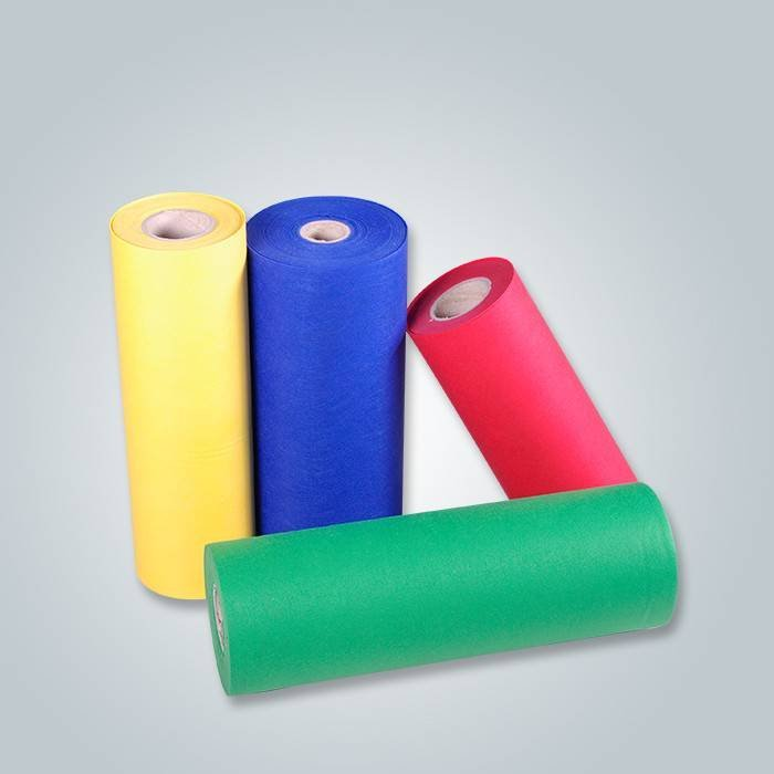 For free sample wholesale cheap high quality colorful PP spunbond nonwoven fabric