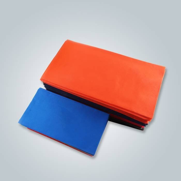orange non woven table cloth