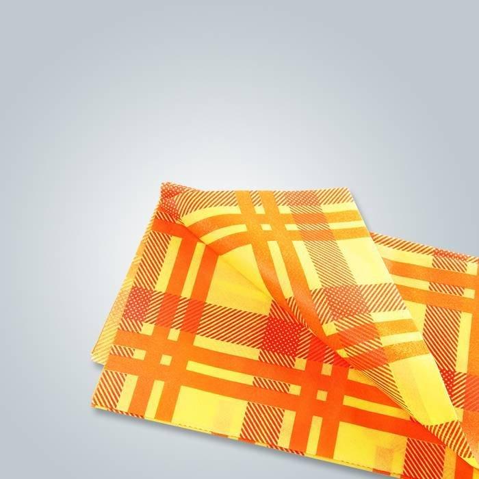 Impression de nappes non tissées / fournisseur de tissu non tissé