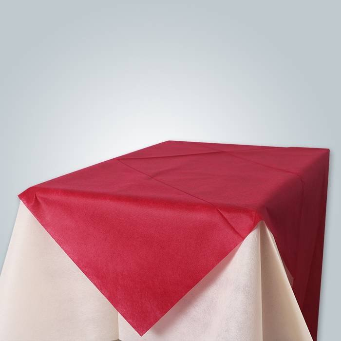 Polypropylene non woven tablecloth 45gr