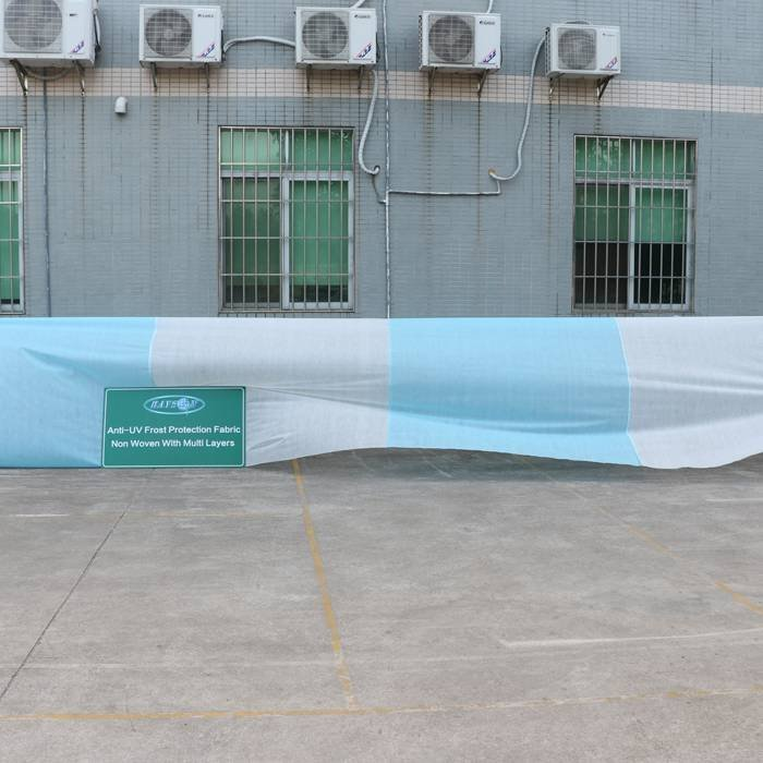 Super Wide PP Nonwoven Fabric With Anti UV Aging Resistance In Foshan Factory