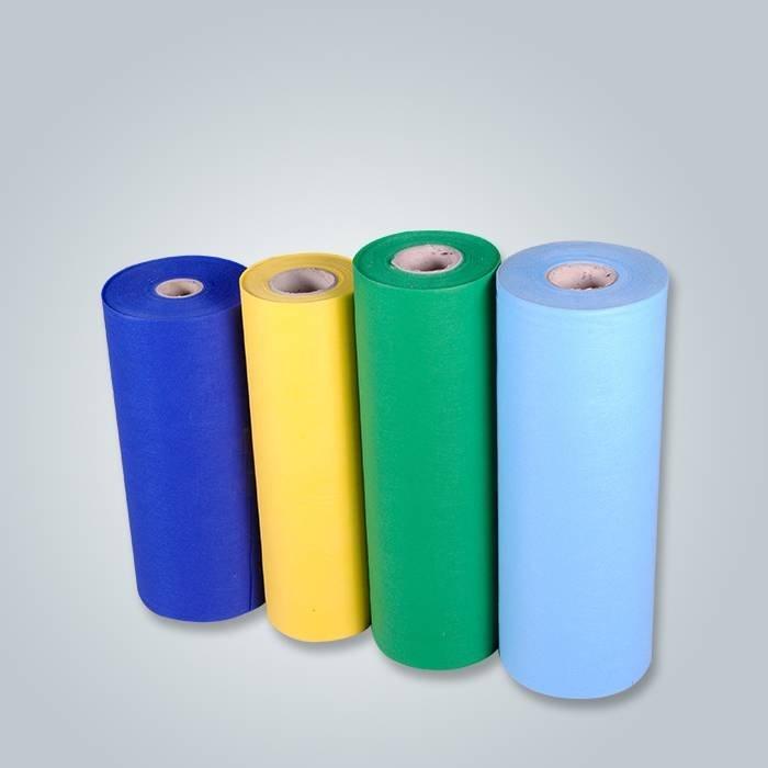PP Tissu non tissé de polypropylène de pp Spunbond avec n'importe quelle couleur