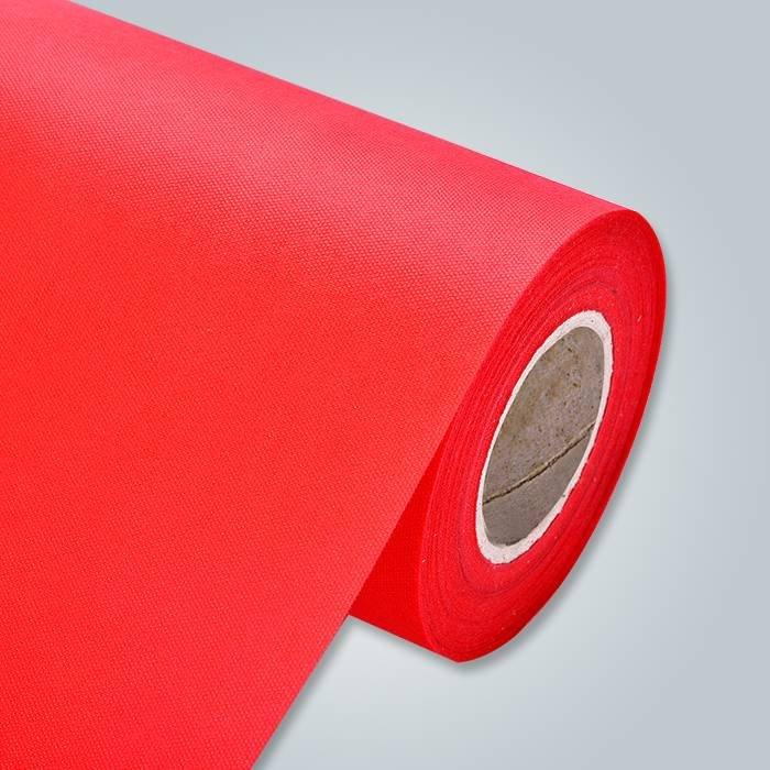 अच्छी गुणवत्ता वाली अग्निरोधी 100% पीपी spunbond गैर बुना कपड़े