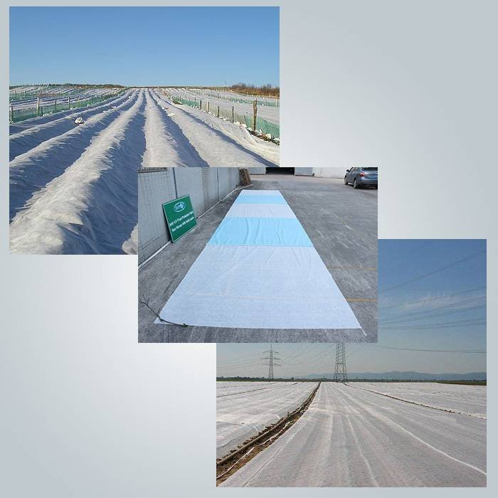Non woven frost protection splicing plant cover