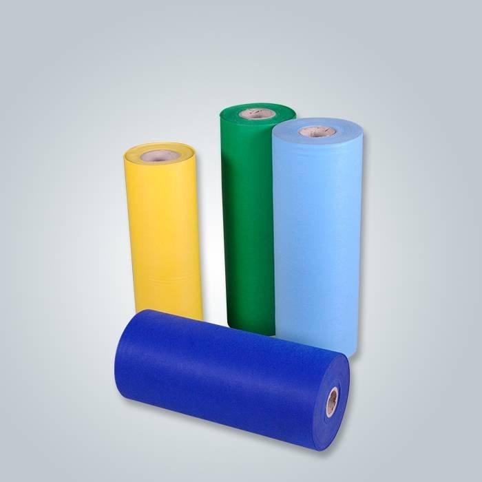 Tissu non tissé de feutre de polyester de tissu d'approvisionnement réel d'usine de pp pour la machine