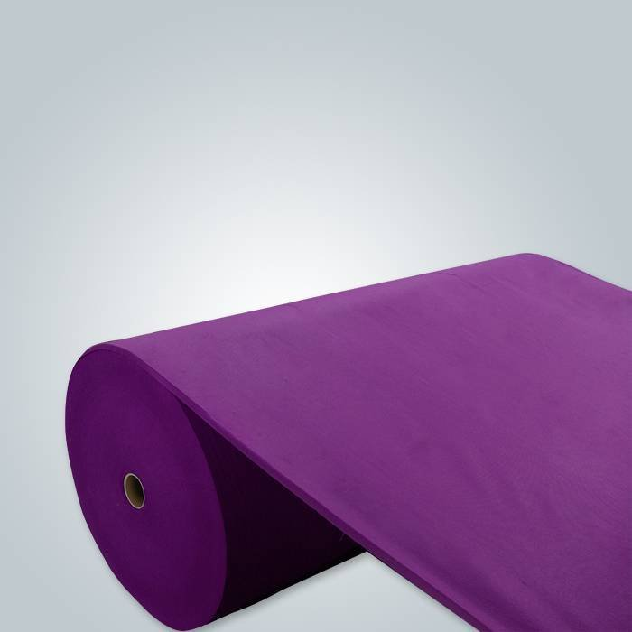 dark purple non woven fabric