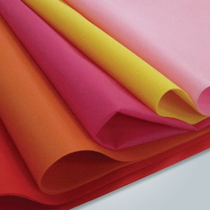 Colorful TNT Nonwoven Fabric For Mattress Cover