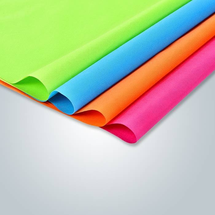 Biodegradable 100% PP Raw Material Spunbond Nonwoven 50Gram
