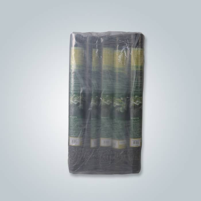 8rolls per pack black landscape fabric