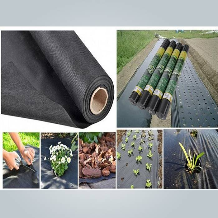 Polypropylene non woven ground mat on rolls