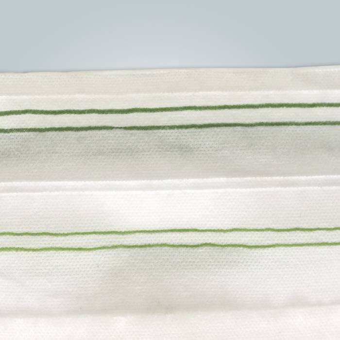 Nonwoven Landscape Fabric with Extra Width