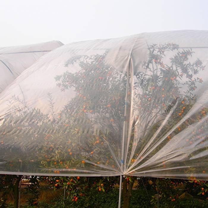Cubiertas protectoras para cultivos anti-UV