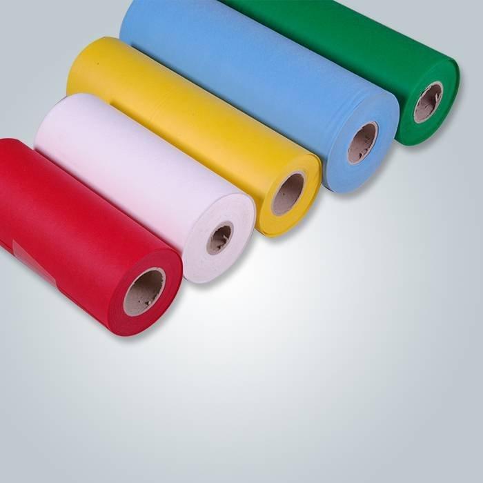 Rouleaux de tissu non tissé en polypropylène à spin