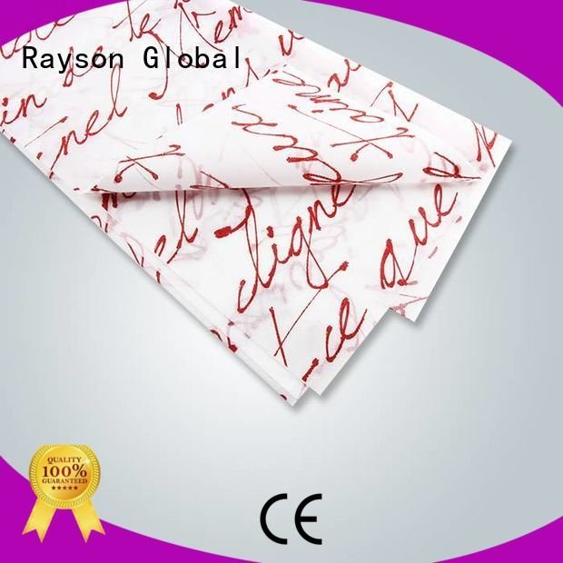 rayson nonwoven,ruixin,enviro Brand linens print printed table covers