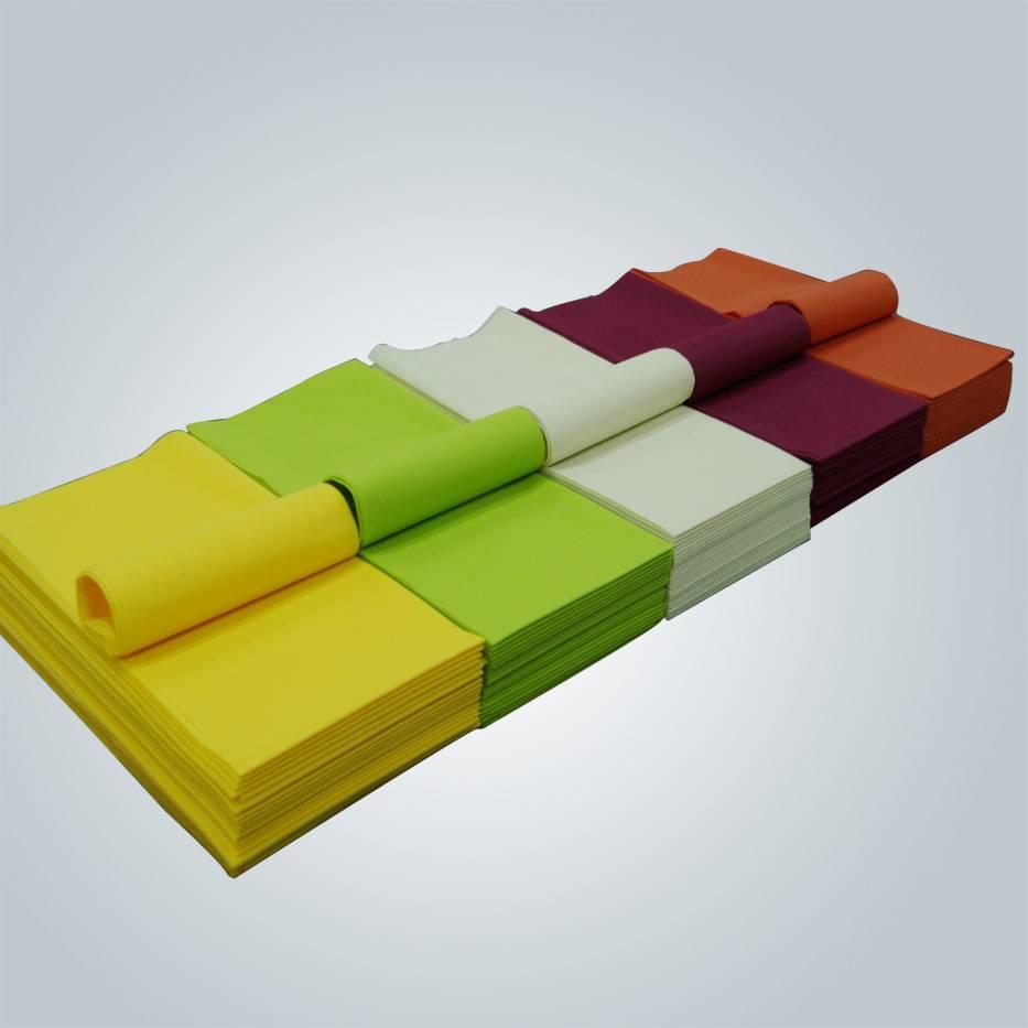 European standard 45gsm / 50gsm non-woven tablecloth / table cloth pp nonwoven