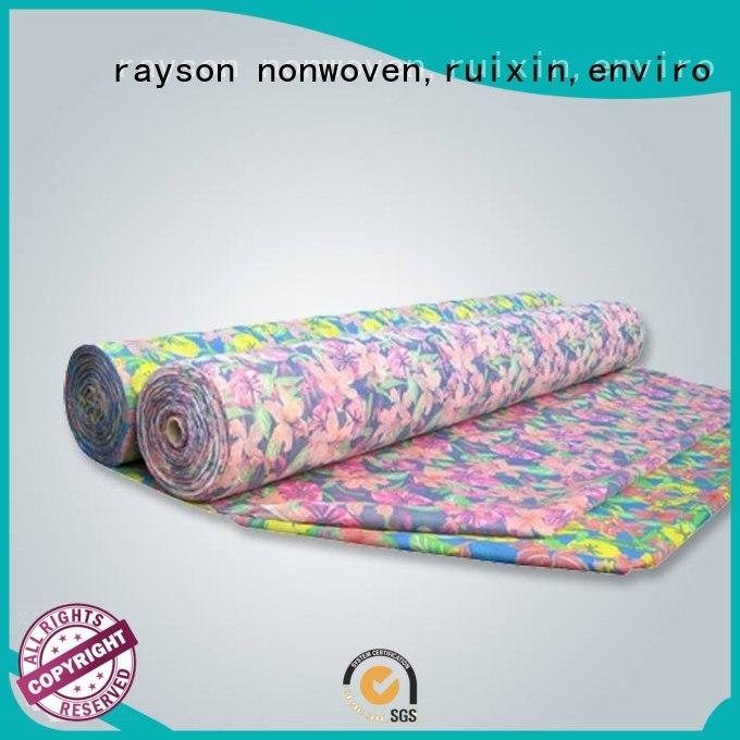 pvc different rayson nonwoven,ruixin,enviro Brand non woven fabric manufacturing machine cost