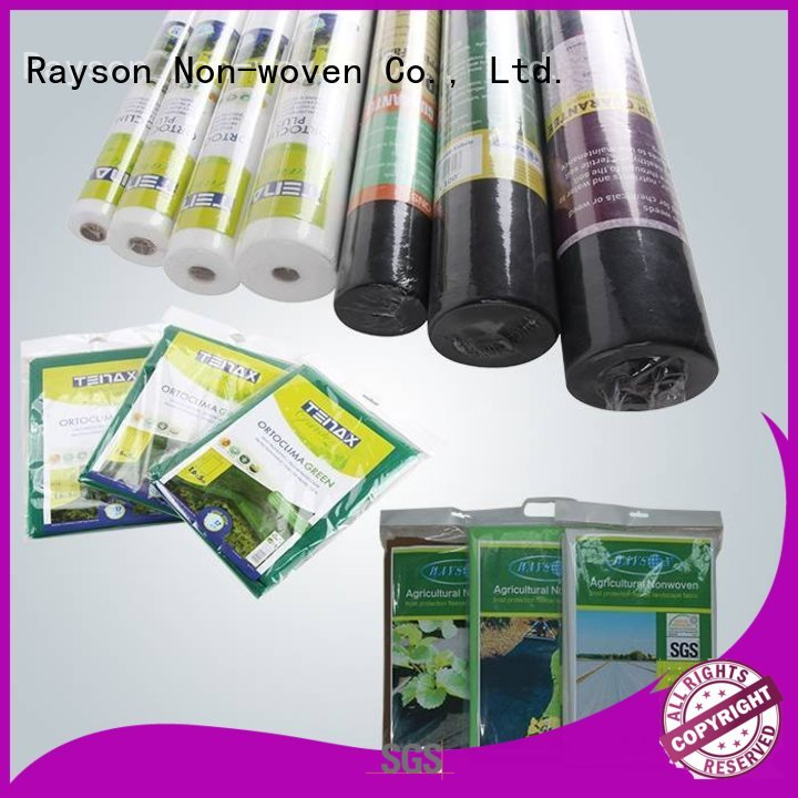 forestry weed oem landscape fabric material joint rayson nonwoven,ruixin,enviro