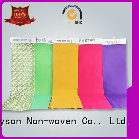 Custom non woven fabric manufacturing machine cost colthes flowers polypropylene rayson nonwoven,ruixin,enviro