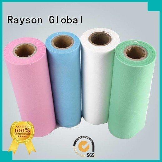 rayson nonwoven,ruixin,enviro baby gowns woven non woven material blue