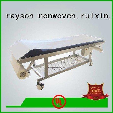 rayson nonwoven,ruixin,enviro Brand waxing strength individual non woven clothes