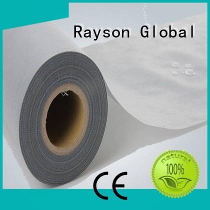 rayson nonwoven,ruixin,enviro Brand ss non woven polyester fabric manufacturer material supplier