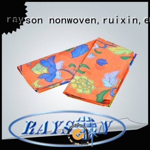 bottom price flower rayson nonwoven,ruixin,enviro Brand spunlace nonwoven fabric suppliers factory
