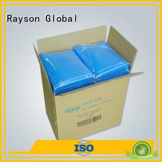 rayson nonwoven,ruixin,enviro white pp non woven fabric price quality bedsheet
