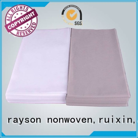 coated quality non woven clothes green clean rayson nonwoven,ruixin,enviro Brand