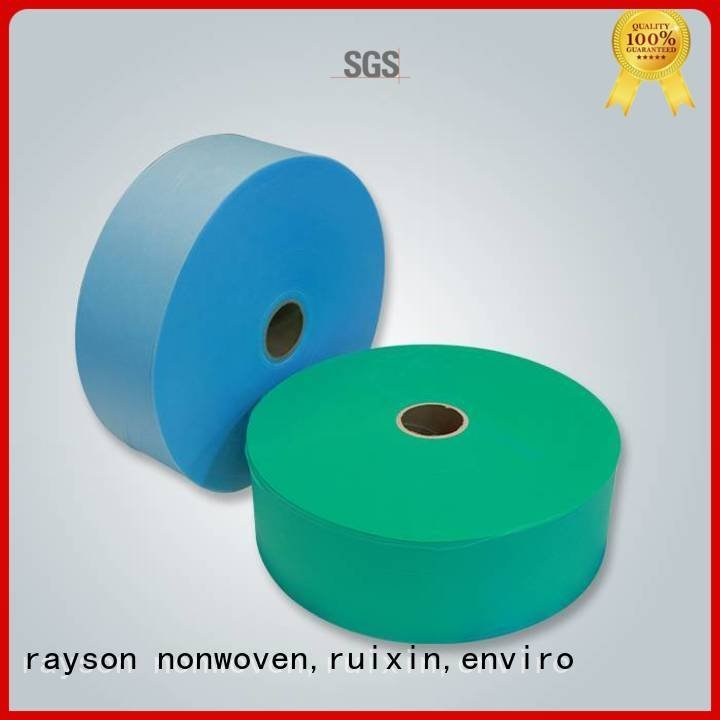 advanced buy non woven fabric fabric colorful rayson nonwoven,ruixin,enviro