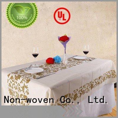 printed folded polypropylene pp non woven fabric manufacturer rayson nonwoven,ruixin,enviro