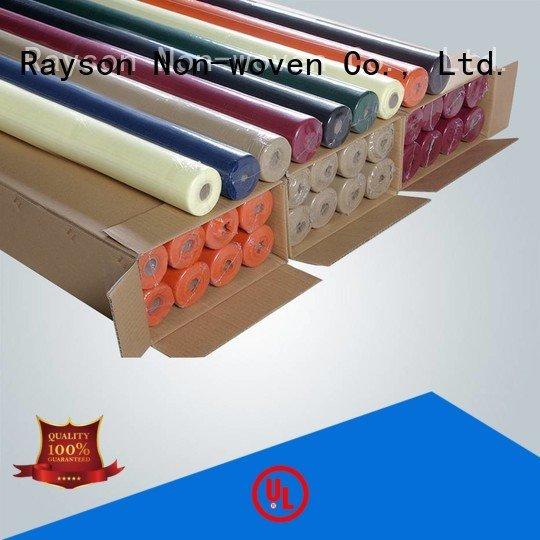 rayson nonwoven,ruixin,enviro polypropylene excellent resistant non woven polypropylene fabric suppliers table