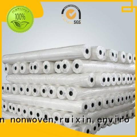 Rollos de polipropileno caliente no tejido rayson nonwoven, ruixin, marca Enviro