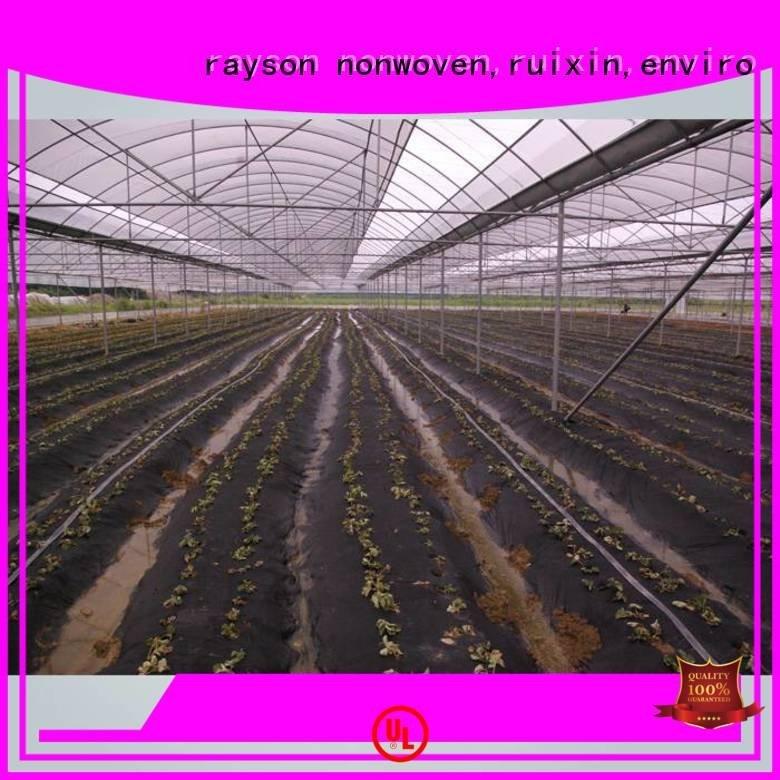 biodegradable treatment benefit 506070g rayson nonwoven,ruixin,enviro preen landscape fabric