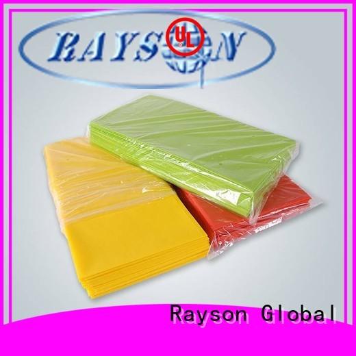 limpar 70 tecido não tecido elegante da roupa de toalha rayson não tecido, ruixin, enviro