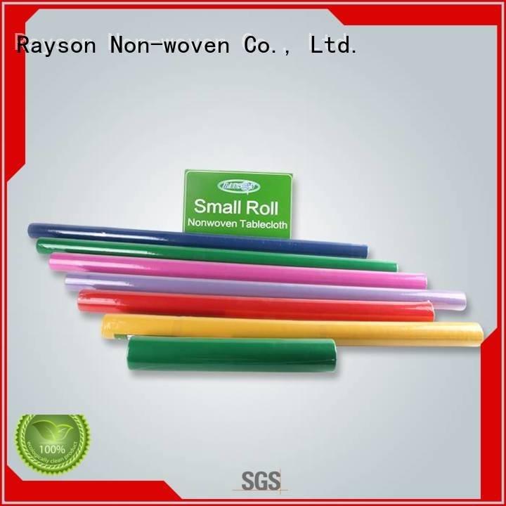 الشركات منسوجات 80G سميكة غير المنسوجة مكافحة الاعشاب النسيج rayson محبوكة ، ruixin ، enviro