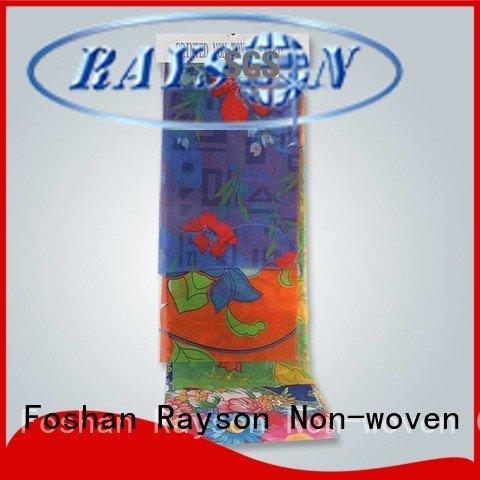 rayson nonwoven,ruixin,enviro design we cleaning spunlace nonwoven fabric suppliers logo