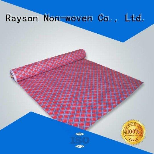 rayson nonwoven,ruixin,enviro Brand fabric slip non woven fabric manufacturing machine cost hydrophobic cleaning