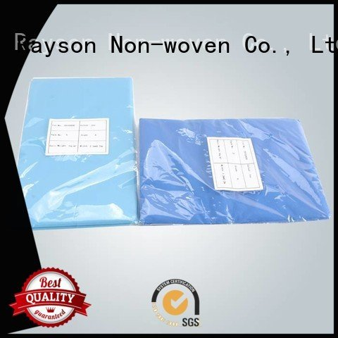 rayson nonwoven,ruixin,enviro Brand fitted selling white non woven fabric used in agriculture