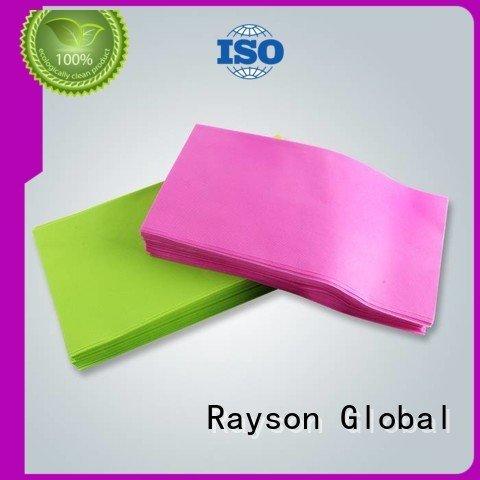 뜨거운 spunbond 부직포 테이블 스프링 친화적 인 rayson nonwoven, ruixin, enviro 브랜드